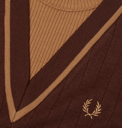 1970s Reissues Knitwear Menswear Fred Perry retro vintage