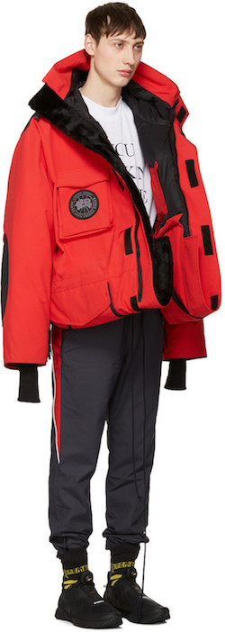 Canada Goose parka Vetements how to wear The Chic Geek