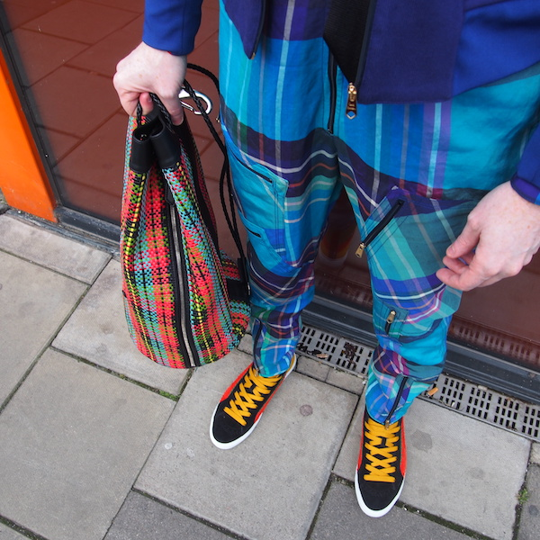 bag paul smith duffle checked plaid