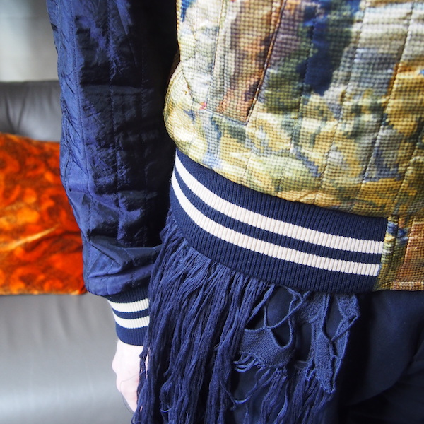 Dries van noten scarf menswear OOTD fashion