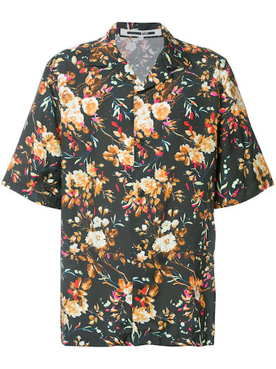 Top menswear picks of SS18 McQ Alexander McQueen Floral Shirt Coggles