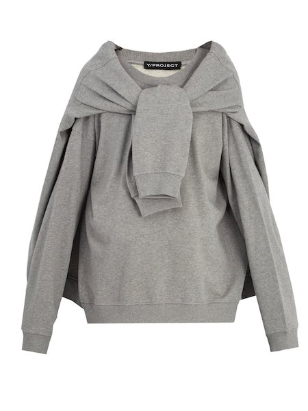 y Project grey sweatshirt Matchesfashion.com SS18 Top menswear of the season