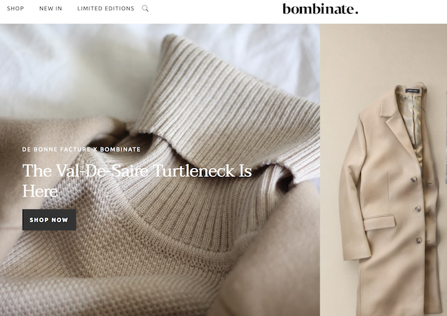 Quality in luxury goods Bombinate marketplace menswear