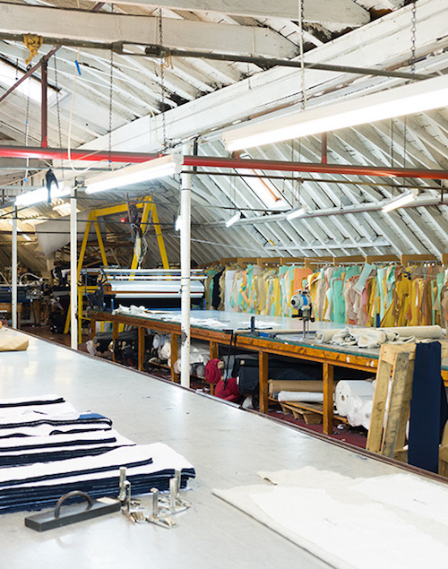 Fashion factory tours Private White Manchester