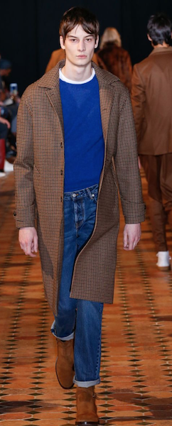 AW18 menswear trends Paris blue Officine Creative