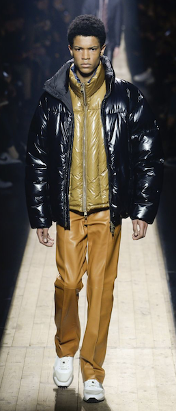 AW18 menswear trends Paris chubby dunhill