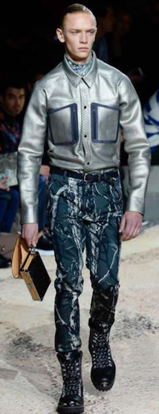 AW18 menswear trends Paris Louis Vuitton denim
