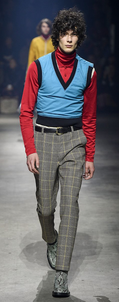AW18 menswear trends Paris Kenzo triple layers