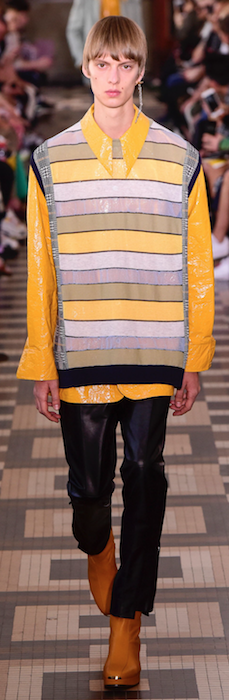 SS19 Trends Short Shorts Menswear Yellow shirt Wooyoungmi