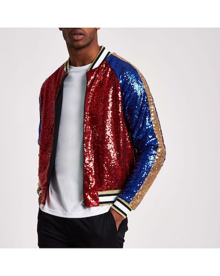 Men's sequins sequinned menswear River Island