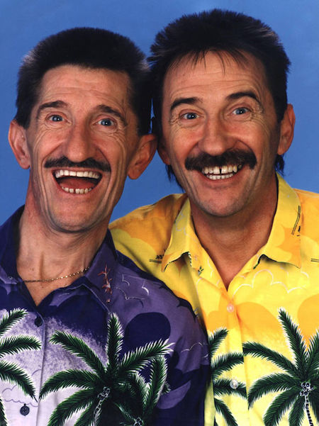 Men's style icons Chuckle Brothers