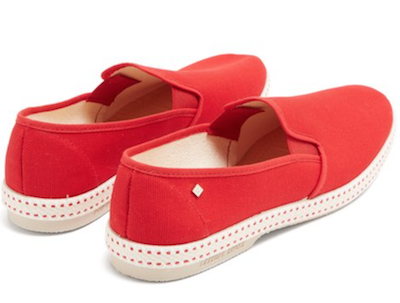 Get The Look Menswear Wild Wild Country Rivieras red espadrilles'