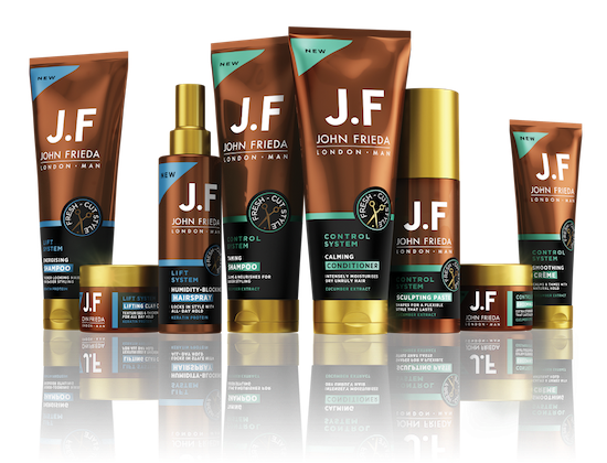 John Frieda JF Man Haircare Review