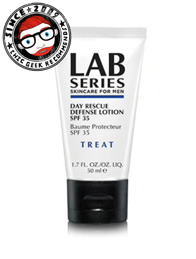 Lab Series Day Rescue Defense Lotion SPF 35 review tried tested fragrance