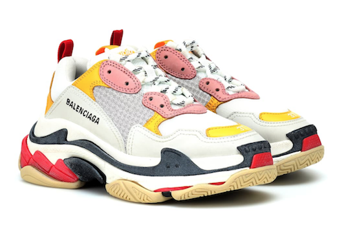 End of the chunky trainer sneaker Balenciaga