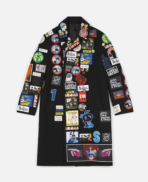menswear product of the week stella mccartney beatles coat 2019 badges yellow submarine