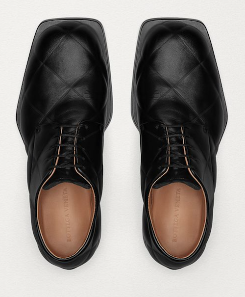 Bottega Veneta derby leather black shoes Daniel Lee Product of the week menswear