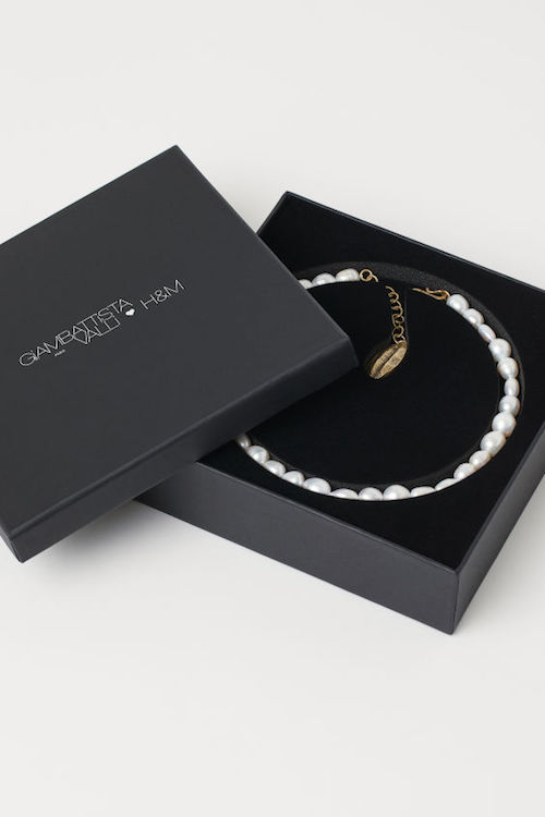 pearl necklace giambattusta valli Product of the week menswear