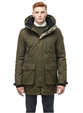 menswear seasonal fashion round up nobis martin parka