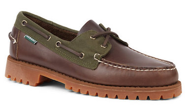 menswear seasonal fashion round up sebago Millerain boat shoes