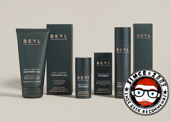 tried tested review Beyl Selfridges grooming eye cream moisturiser cleansing gel
