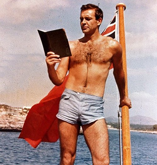 daniel craig james bond male body hair sean connery