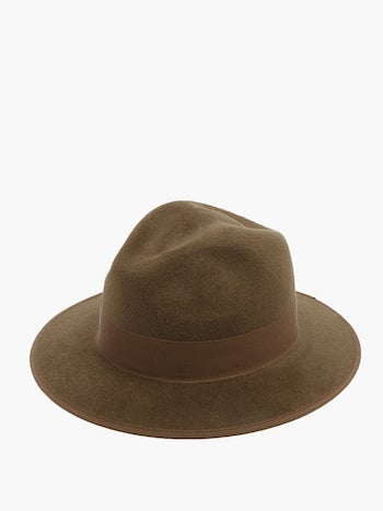 the dig film basil brown gucci brown floppy hat