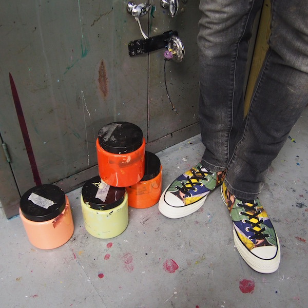 Converse chuck andy warhol sneakers