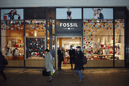 Fossil Oxford Street the chic geek
