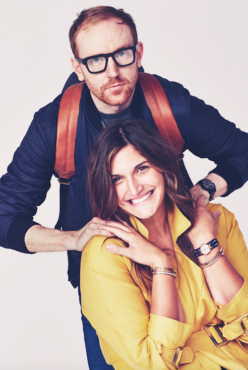 The Chic Geek fossil watch campaign