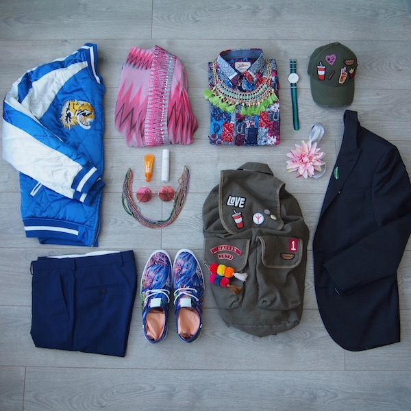 blogger menswear chic geek flatlay