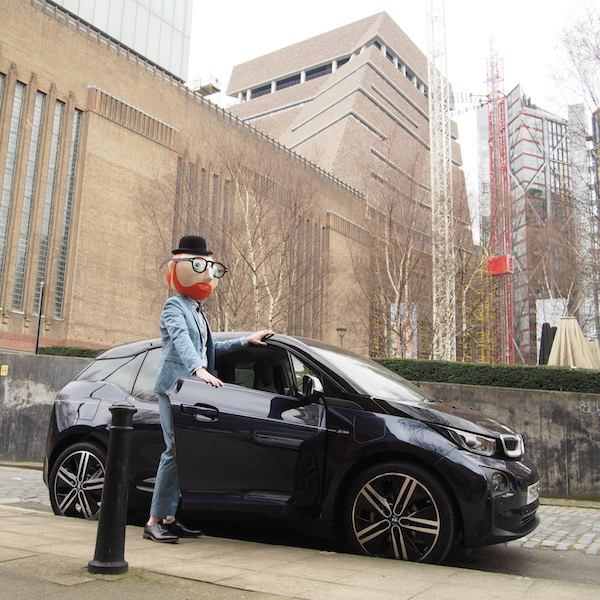 BMW i3 Mr Porter limited edition chic geek