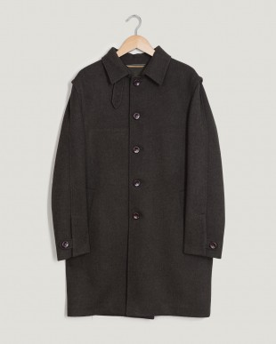 Top Menswear AW17 Trunk Clothiers LodenTal coat