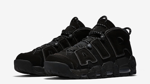 Trainers Sneakers Trend Fugly Black Nike Air UpTempo