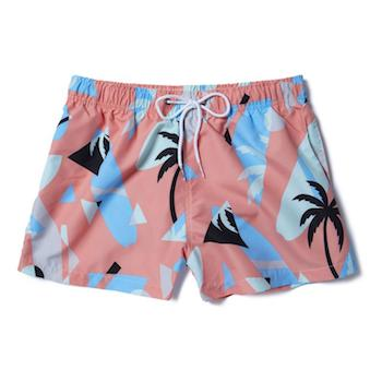 Call Me By Your Name Get The Look Menswear Boardies swim shorts 80s