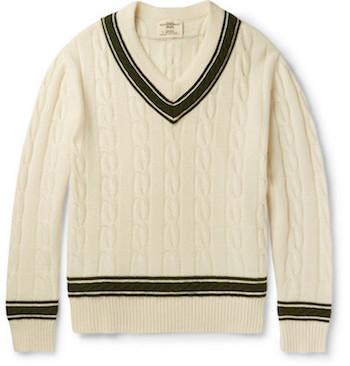 Best Men's Cricket Jumpers Kent & Curwen