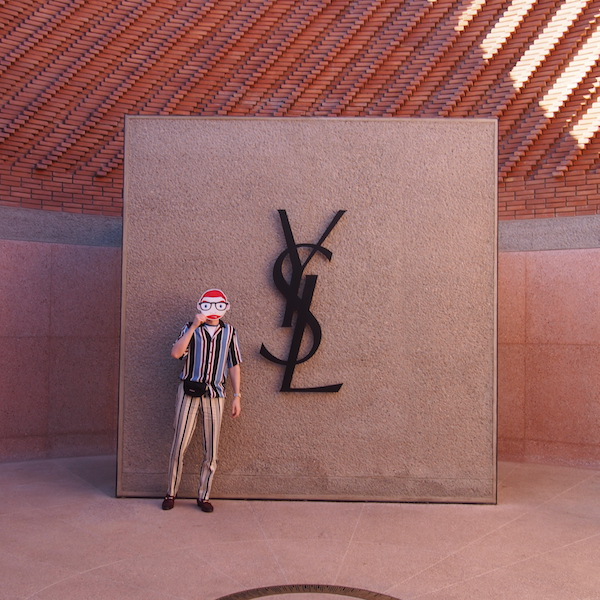 Visit the Yves Saint Laurent YSL Musuem in Marrakech with The Chic Geek