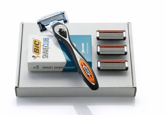 Review Bic Shave Club Razor Wars The Chic Geek men's grooming expert