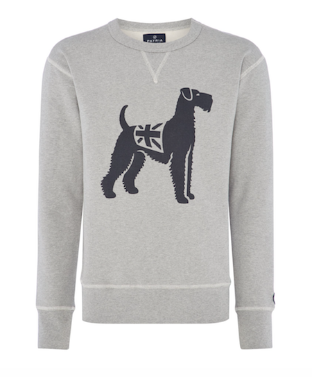 Patria British Armed Forces Made in UK sweatshirt dog