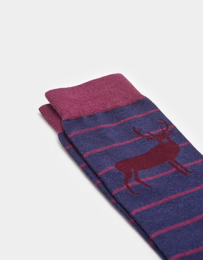 Autumn Winter Menswear Must Have Stag Socks Joules
