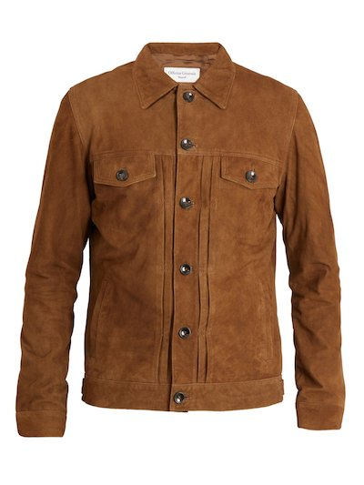Top menswear picks of SS18 Officine Generale Suede Jacket Coggles