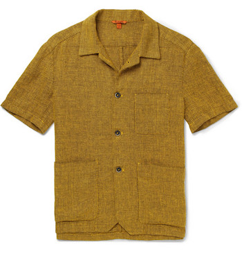 Top Camp Collar Shirts Barena