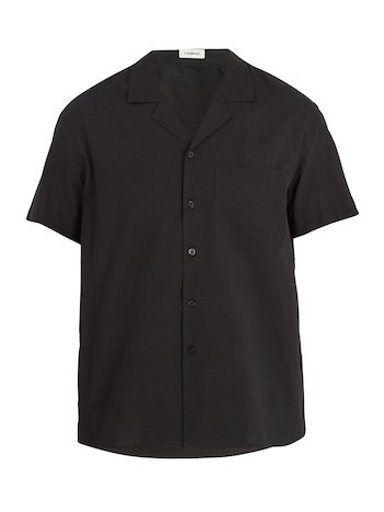 Top Camp Collar Shirts Commas