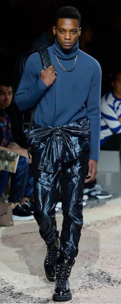 AW18 menswear trends Paris Louis Vuitton PVC