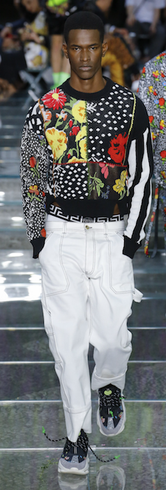 SS19 Trends Short Shorts Menswear Versace Home Knits