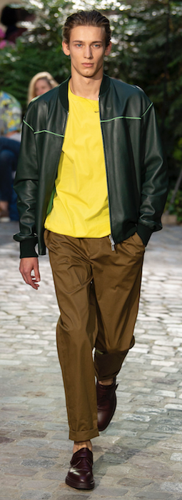 SS19 Trends Short Shorts Menswear Yellow Raf Simons