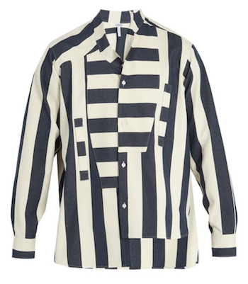 The Squash Tate Britain Style Icon Anthea Hamilton loewe shirt matchesfashion.com