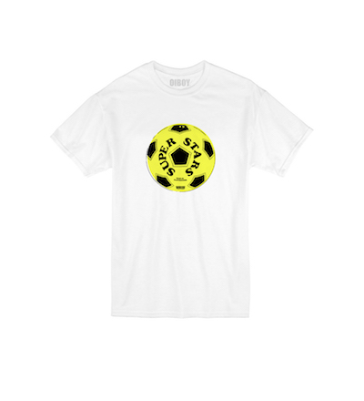 World Cup 2018 Style OIBOY Superstars football t-shirt