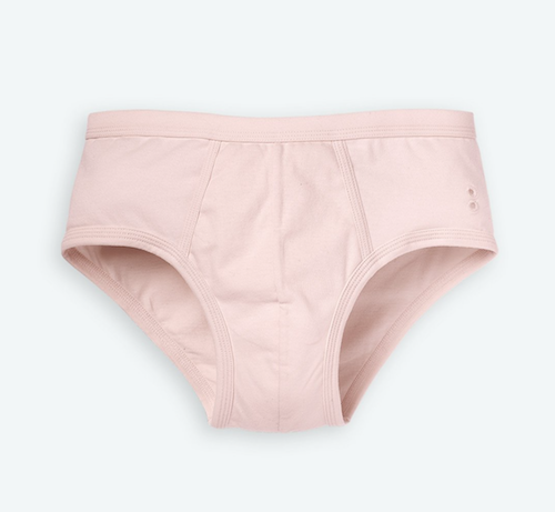Pink underwear men's Ron Dorff Blush y-fronts
