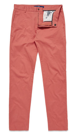 Get The Look Menswear Wild Wild Country Spoke coral trousers'